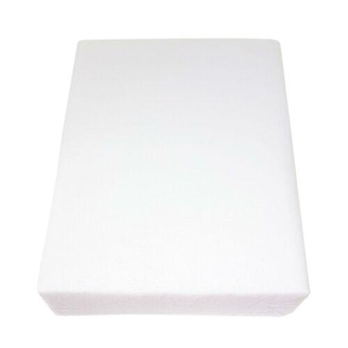 2 x Lit Superposé blanc 100/% Coton Brossé Flanelle Drap avec une profonde Jupe