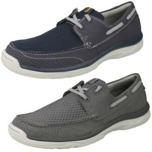 mens clarks cloudsteppers lace up casual shoes 'marus edge