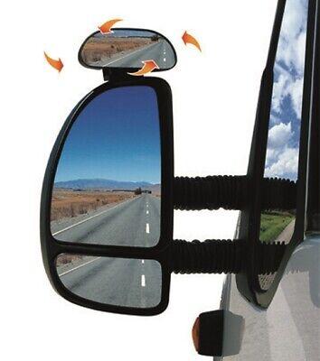 universeller Auto-Weitwinkel-Seiten-R/ückspiegel HD-Glas verstellbar ENticerowts 1 Paar Toter-Winkel-Spiegel runder Weitwinkel-Au/ßenspiegel