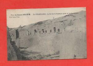 France-Guerre-1914-15-16-Fort-de-la-Pompelle-apres-le-bombardement-C3920