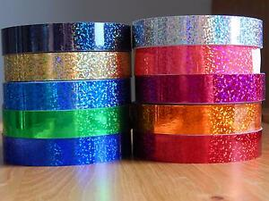 Holographic-Hoop-Tape-Glitter-Multi-Dot-Self-Adhesive-20mm-x-10m-Lures