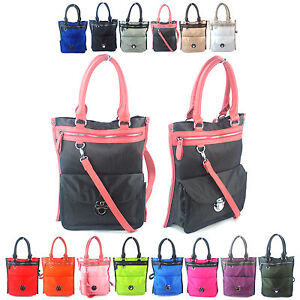 Image Is Loading Ladies Canvas Book Bags Shopper Tote Girls College