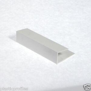 Plastic Upvc Pvc Soffit Cladding Start Edge J Trim U End