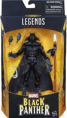 Marvel Legends Series Black Panther 6 Inch Figure Walmart Exclusive Box Damage