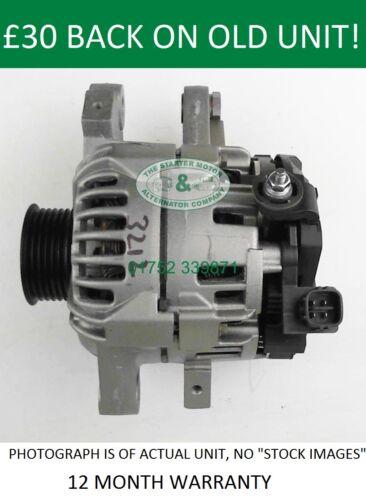 Toyota Yaris Bosch alternator sustitución de 0124225052 104210-8160