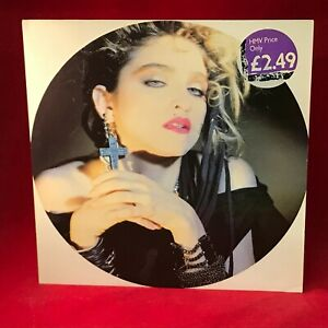 MADONNA-Holiday-1985-UK-2-track-12-034-Vinyl-single-EXCELLENT-CONDITION