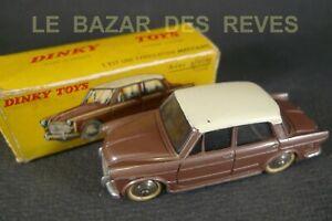 DINKY-TOYS-FRANCE-FIAT-1200-GRANDE-VUE-Boite-REF-531-lot2