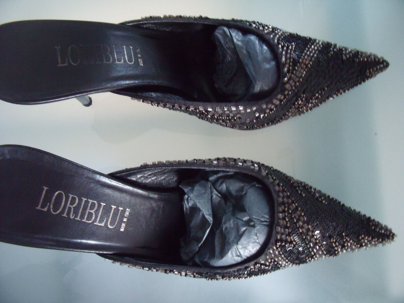 LORIBlau LUXUS Damenschuhe  in schwarz, Gr.38 wie neu neu neu  | Schöne Farbe  | Günstige Preise  | Kaufen  6e16fd