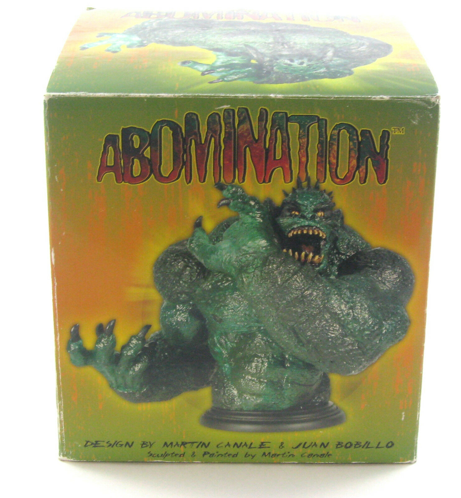 Hulk  Abomination gree autoautobust Dynamic Forces 2003 MIB  punto vendita