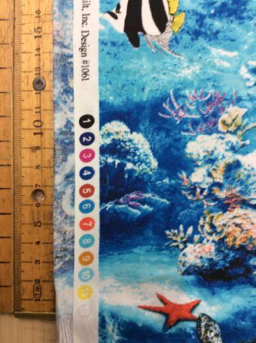 Ocean Adventure Par Fabri-Quilt Design 1061 de Ebor tissus 100/% coton