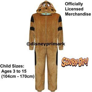 OFFICIAL SCOOBY-DOO ONESY Mens Boys Girls Childs Pyjama Costume PJ Sleepsuit