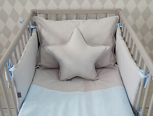 Luxury Baby Boy Bedding Set For Cot Bed