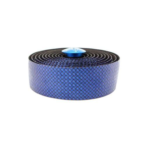 Supacaz Bling  Black or Blue Carbon Silicon Gel Oil Slick Bike Handlebar Tape