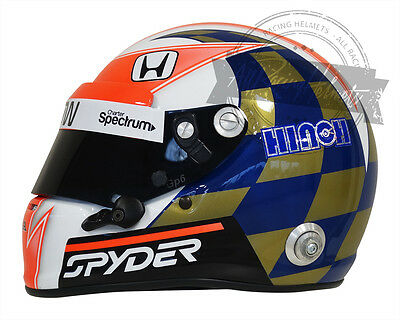 James Hinchcliffe Indianapolis Indy 500 Full Scale Replica Helmet