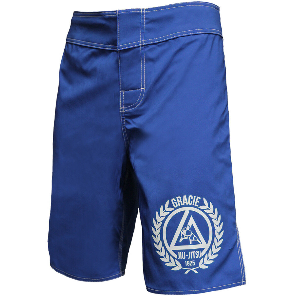 Gracie Jiu-Jitsu Royal 2.0 MMA Fight Shorts - Royal bluee