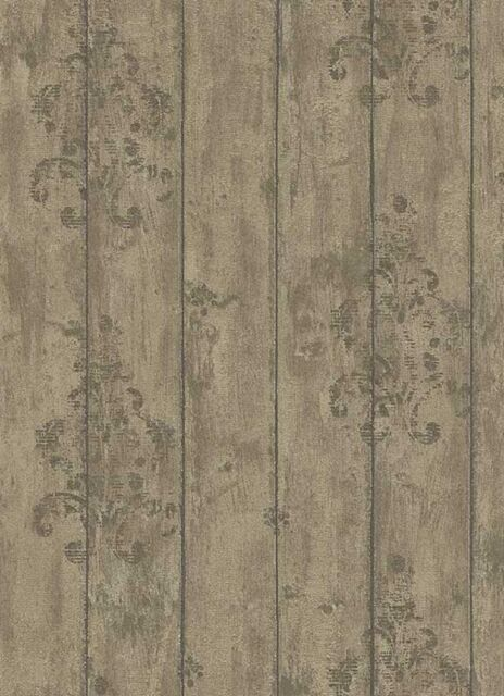 2,53/qm / Erismann Tapete Holzoptik 6912 11 Fashion Wood 691211