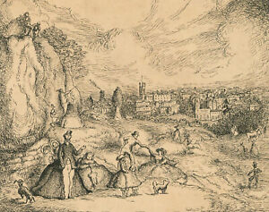 Harold Hope Read (1881-1959) - Pen and Ink Drawing, A Day Out