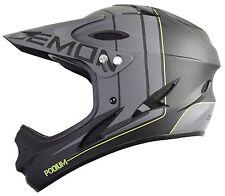 Demon Podium Full Face Mountain Bike Helmet Black Large