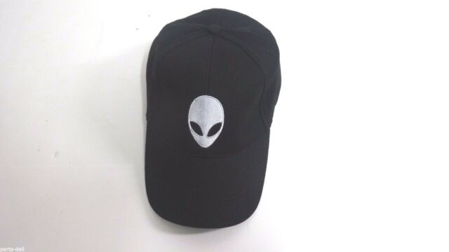 Genuine NWOT Alienware Cap Black Mesh 100% Polyester Unisex One Size Fits  All 0b4994147e01