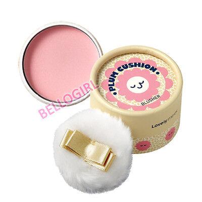 THE FACE SHOP Lovely Me:ex Pastel Cushion Blusher [ #3 Plum ] 5g BELLOGIRL