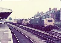 British Rail 37211 Hereford 6x4 inch Rail Photo B