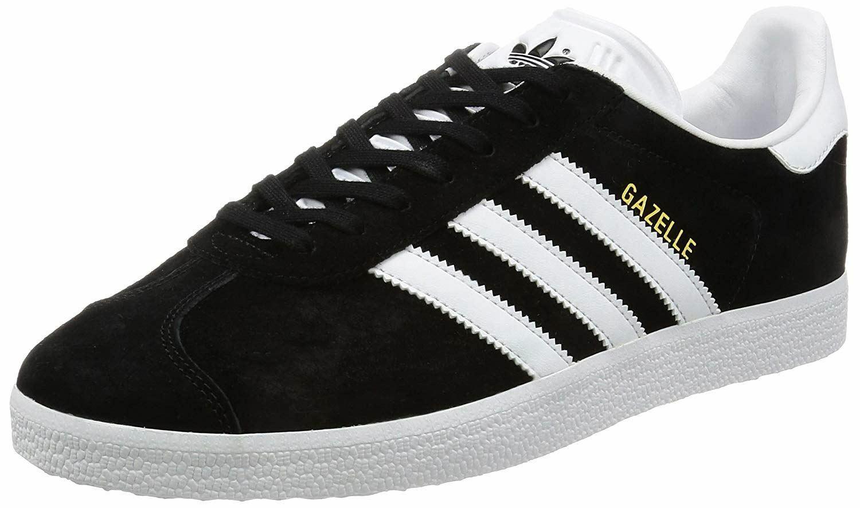 7844eb77 Adidas Original Gazelle blancoo para Hombre Gamuza Zapatillas Negro ...