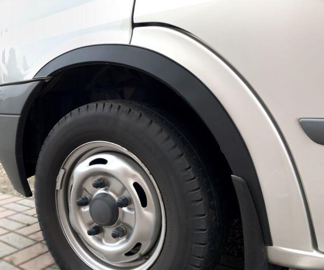 06-13 Ford Transit MK7 new Wing Wheel Arch Trim set Front Rear 4 pcs CHROME SaLe