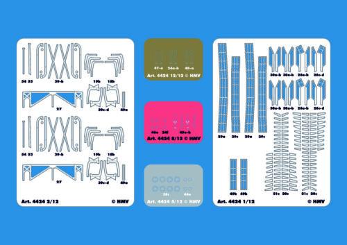 ... Modell-Zubehörsatz Lasercut-Detailset für Schlepper Merkur//Vulkan 1:250 HMV