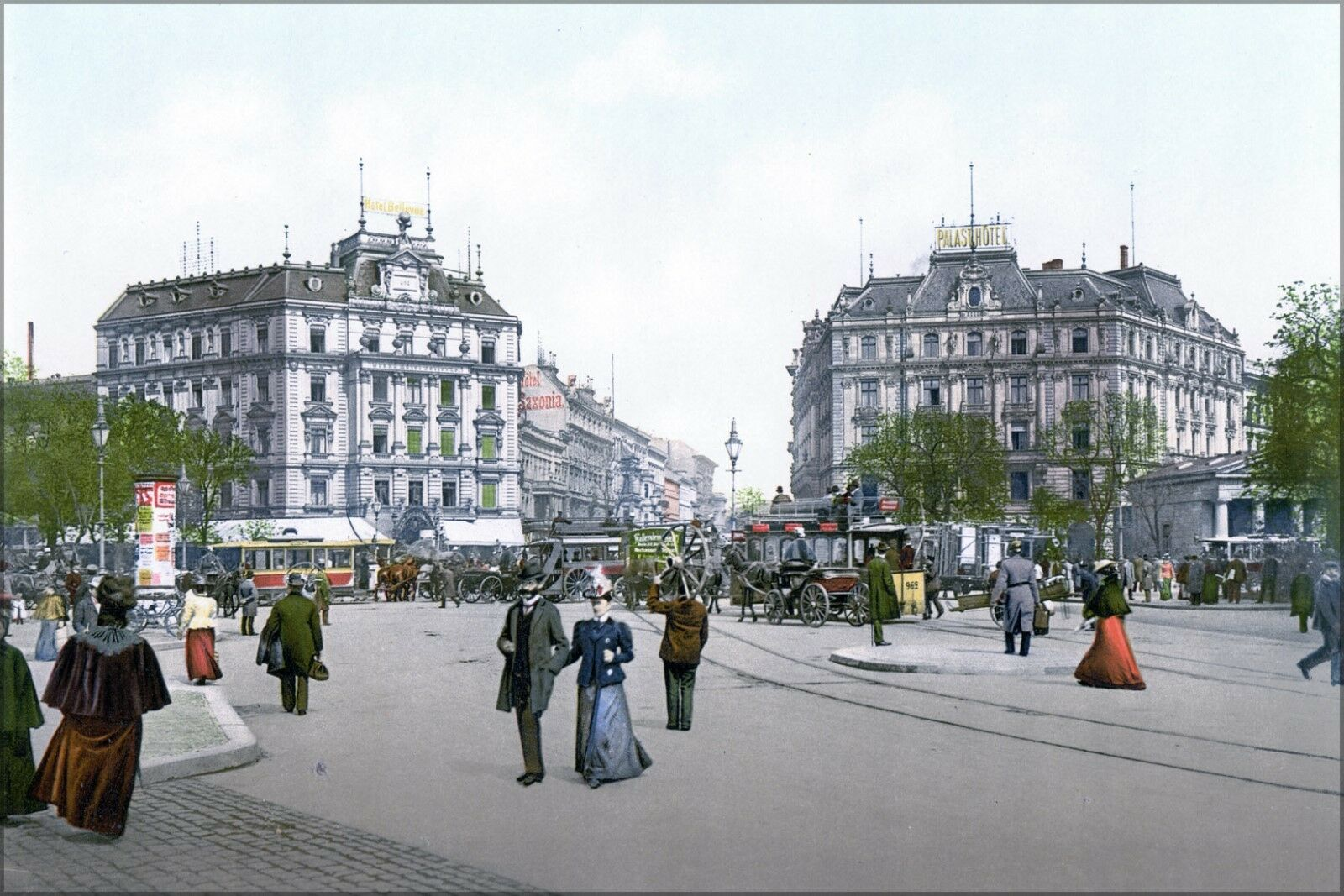 Poster, Many Größes; Berlin - Potsdam Square Potsdamer Platz Around 1900