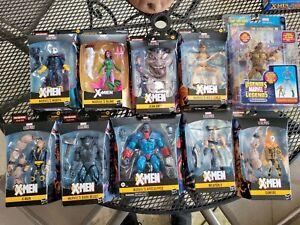 Marvel Legends Age of Apocalypse X-Men Set of 11 Sugar Man BAF Blink FREE Ship