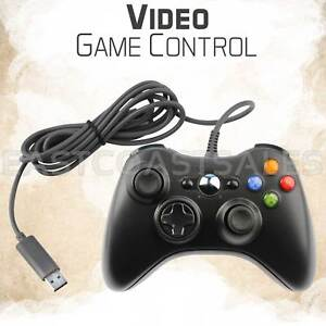 For-Microsoft-Xbox-360-amp-Windows-PC-USB-Wired-Video-Game-Controller-Pad-Black