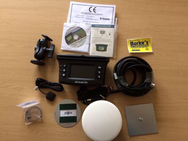 Trimble ez guide 250 gps lightbar w ag15 antenna upgrade ebay trimble ez guide 250 gps lightbar w ag15 antenna upgrade aloadofball Images