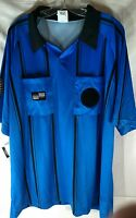 Official Sports International Referee Soccer Extra Large Blue Uniform