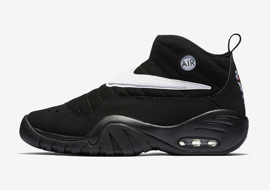 2017 Nike Air Shake NDESTRUKT size 14 Black White OG Dennis Rodman. 880869-001.