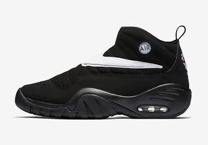 2017 Nike Air Shake NDESTRUKT size 14 Black White OG Dennis Rodman ... d2bc16d51