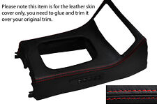 RED STITCH GEAR SURROUND LEATHER SKIN COVER FITS HONDA CRX DEL SOL 92-97