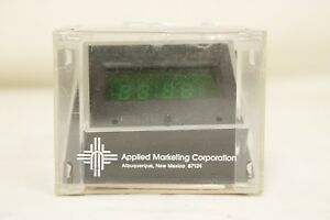 6420A-Applied-Marketing-VC-501-Digital-Clock-On-Dash-Green-Display