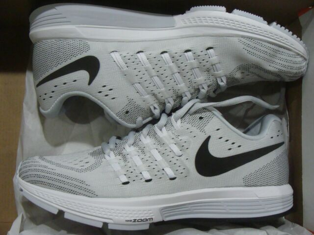1932f6653fd9 Nike Mens Air Zoom Vomero 11 Running Shoes Pure Platinum Black White ...