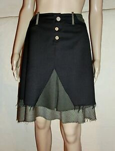 Skirt ONE STEP 60% Wool, 30%Polyester, Size 42 Excellent Condition