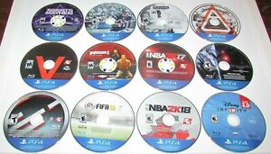 Lot-of-12-Playstation-4-PS4-Games-Disc-039-s-Only-Fast-Shipping