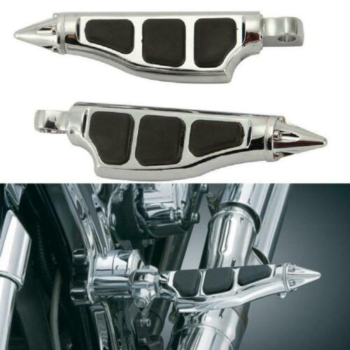 Motorcycle Foot Pegs Rests Male Mount Fit for Harley Davidson Softail Sportster