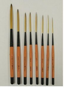 Drag-039-n-Fly-Ted-Turner-Signature-Series-Pinstriping-Brush-Any-Size-OR-Set-of-8