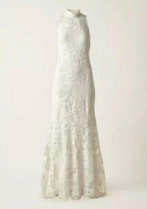 H M Ss18 Conscious Exclusive Organic Cotton Lace Dress Bridal Wedding Size Xs Ebay
