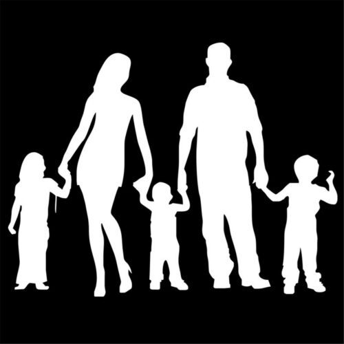 People Family Member Sticker Car Window Laptop Wall Removable Art Vinyl Decal