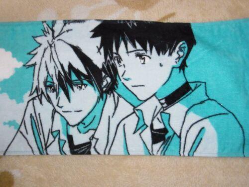 Evangelion Scarf Towel Kaworu Nagisa /& Shinji Ikari Brand-New