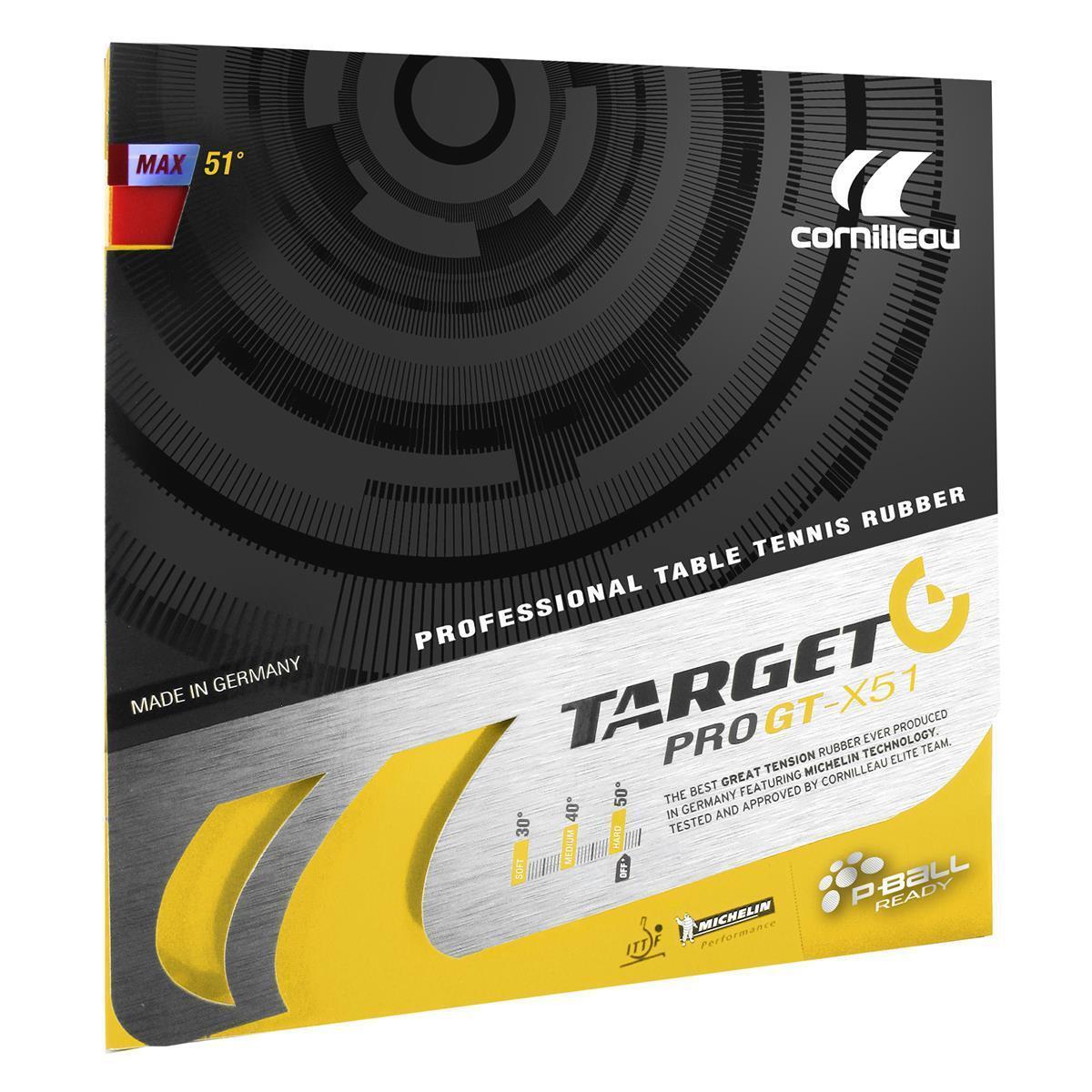 Cornilleau Target Pro GT-X51 Table Tennis Rubber