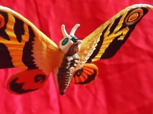 "Mothra/'04 BANDAI Figura Pvc Mancha Ancho 5.5/"" Juguete De Godzilla Kaiju//Reino Unido Envío"