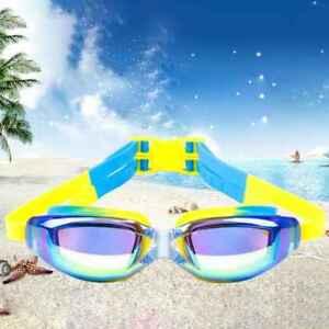 d118195c3f Kids Children Swim Goggles UV Protection Anti-Fog Swimming Glasses ...