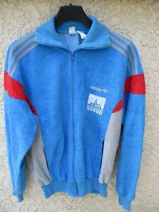 Veste ADIDAS CHALLENGER vintage bleu ciel Ventex giacca