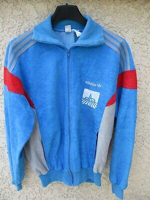 Veste ADIDAS CHALLENGER vintage bleu ciel Ventex giacca tracktop jacket jacke S | eBay